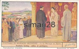 CHROMO LIEBIG - COUTUMES DE MARIAGES EXOTIQUE - N° 2 - LE MARIAGE AU JAPON - Liebig