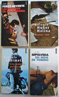 Lot 12 Romans Hispanophones: Molina, Coelho, Garcia Marquez, Sepulveda, Perez Reverte, Sampedro, Skarmeta, Piglia... - Livres, BD, Revues