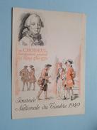 Journée Nationale Du TIMBRE 1949 (Soc. Philatéliques Françaises) Anno 1949 ( Zie Foto Voor Details ) !! - France