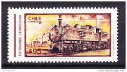 Chile - Chili 1986 Yvert 777, Chilean Railway Heritage - MNH - Chile