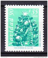 Chile - Chili 1990 Yvert 1011, Christmas, Noël - MNH - Chile