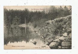 Cp , 21 , MONTLAY EN AUXOIS , étang De SAINTE ISABELLE , Voyagée 1922 - France