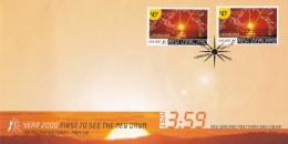 New Zealand 2000 First To See The New Dawn Millenium FDC - FDC