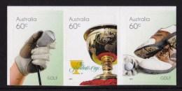 Australia 2011 Golf Set Of 3 Self-adhesives MNH - Ongebruikt