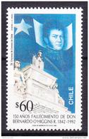 Chile - Chili 1992 Yvert 1136, Don Bernardo O'Higgins 150th Anniversary - MNH - Cile