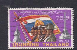 Thailand SG 740 1973 25th Anniversary Of Veteran's Day Used - Thaïlande