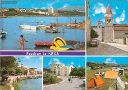 Pozdrav Iz Krka Mehrbildkarte - Jugoslawien