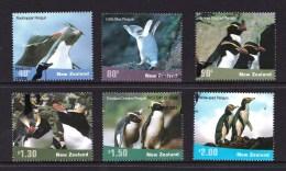 New Zealand 2001 Penguins Set Of 6 Used - New Zealand