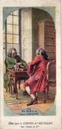 1 Trade Card Chromo  CHESS ECHECS CHACH  Pub Chocolat REVILLON  Historique De Le Jeu D'ECHECS - Echecs