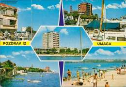 Pozdrav Iz Umaga Mehrbildkarte - Jugoslawien