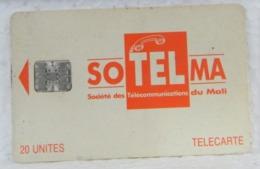 MONDOSORPRESA, SCHEDE TELEFONICHE, MALI, SOTELMA 20 UNITES - Mali