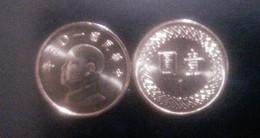 2016 Taiwan Rep China 1 Yuan NT$1.00 Chiang Kai-shek CKS Coin - China