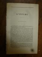 1866 : L'INFÂME (32p) Par Ed. About;MARINE BRITANNIQUE Et Greenwich (42p) Par Alphonse Esquiros.;CUBA Et ANTILLES (40p) - Old Paper
