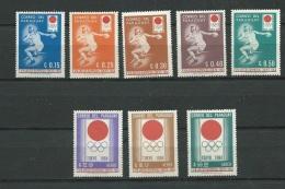 Paraguay 1964 Yvertn° 742-46 Et LP PA 373-75  , 8 Valeurs ** Abc 21905 - Paraguay