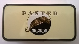 Boîte à Cigares - PANTER - Mignon - En Parfait état - - Contenitori Di Tabacco (vuoti)