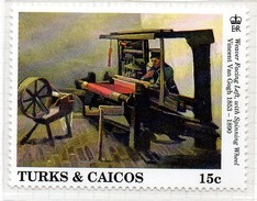 PIA - TURKS E CAICOS - 1991 : Centenario Della Morte Di Vincent Van Gogh - (Yv  942-45) - Turks E Caicos