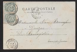 Lot Et Garonne - Cachet Type 18  PUYMIROL - Marcophilie (Lettres)