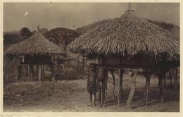 147- OUBANGUI - A.E.F.  - Silos à Riz  -photo R. Pauleau - Centrafricaine (République)