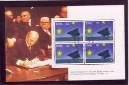 UUU16  IRLAND 1992 Michl 810 MH - BLATT ** Postfrisch Siehe ABBILDUNG - 1949-... Republik Irland