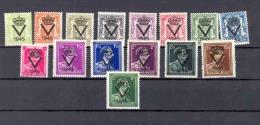 BELGIUM 1945 ISSUE COB PR61/75 MNH - Privées & Locales