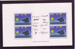 UUU17  IRLAND 1992 Michl 810 MH - BLATT ** Postfrisch Siehe ABBILDUNG - 1949-... Republik Irland