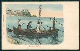 Messina Ganzirri Pescatori Siciliani Cartolina TC0009 - Messina