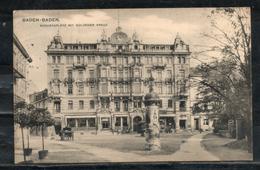 Allemagne. Baden Baden. Augustaplatz Mit Goldenem Kreuz - Baden-Baden