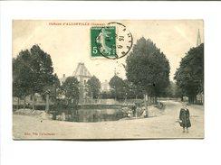 CP - ALLONVILLE    (80) CHATEAU - France