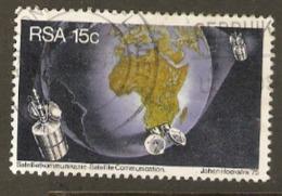 South Africa 1975 392 Satelitte Communication Used - Oblitérés