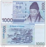Korea South - 1000 Won 2007 UNC  Ukr-OP - Korea, South