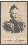 BELGIQUE / BELGIE / LA REINE MARIE HENRIETTE / KONINGIN MARIE HENRIETTE /  + SPA 1902 - Familles Royales