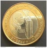 Togo  -  6000 CFA ...2003 ..President Eyadema........bimetallic / Bimetal - Togo