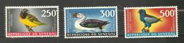 Sénégal POSTE AERIENNE N°65 à 67 Neufs** Cote 31.50 Euros - Senegal (1960-...)