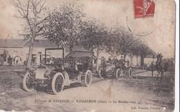 Carte 1905 VOUZERON / LE RENDEZ VOUS (restaurant , Chasse ? , Automobiles) - Vouzeron