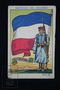 1900´s Trading Card/ Chromo - WWI Mecklenburg Flag & Military Uniform - Chocolate