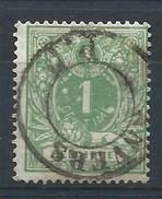 N°26, 1c Vert Càd ANVERS / PP - 1869-1883 Léopold II