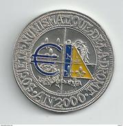 1 Euro Temporaire Precurseur De DROME  2000, RRRR,, NI + Emaille, Nr.281 - Euro Der Städte
