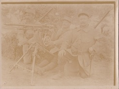 Photo  9*12cm Poste Mitrailleuse 14-18 - 1914-18