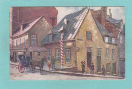 Tuck`s Old/Antique? Postcard Of Montcalm House,Quebec, Canada.Q68. - Quebec