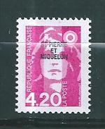 Timbres De St Pierre Et Miquelon  De 1993  N°572  Neuf  Prix De La Poste - St.Pedro Y Miquelon