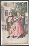 """Schubert : """"Unter Einem Fliederbaum """"  - A Hartmann  - B K W I 635/5 - Voir 2 Scans - Artistas"""