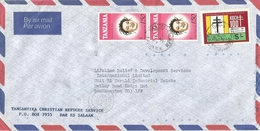 Tanzania 1987 Dar Es Salaam Robert Koch Tuberculosis Nobel Prize Hairdress Coiffure Cover - Tanzania (1964-...)