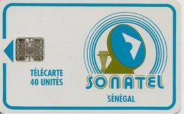 CARTE-PUCE-SENEGAL-40U-SC7-SONATEL-V°9 N°Rge-C51148504-UTILISE-TBE