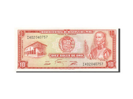 Pérou, 10 Soles De Oro, 1976-1977, KM:106, 1975-10-02, SPL - Pérou