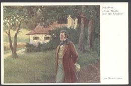 """Schubert -  """" Eine Mühle Seh ' Ich Blinken """"  - Otto Nowak - B K W I 1128 - Voir 2 Scans - Artistas"""
