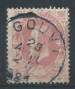 N°34, 40c Rose Càd  GOUVY/1881 - 1869-1883 Léopold II