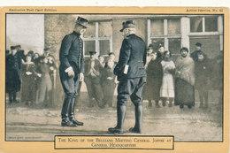 BELGIQUE / BELGIE / 1914-18 KONING ALBERT I EN GENERAAL JOFFRE - Familles Royales