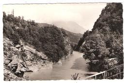 LE MOTTY , Hautes Alpes ; Les Gorges Du Pont Du Loup ; + Timbres Mercure Obl ST FIRMIN En VALGODEMARD 1942 , TB - Andere Gemeenten