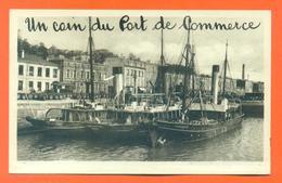 """CPA Brest """" Un Coin Du Port De Commerce """" LJCP 37 - Brest"""