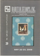 Raritan Stamps Auction 39,May 2009 Catalog Of Rare Russia Stamps,Errors & Worldwide Rarities - Catalogues For Auction Houses